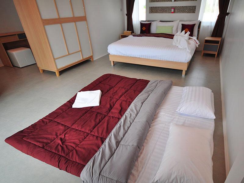 ห้องพัก จิราพูลวิลล่า